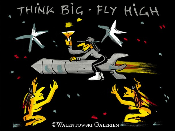 Udo Lindenberg Think big fly high