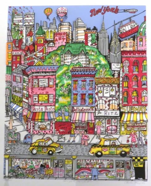 Charles Fazzino New York New York