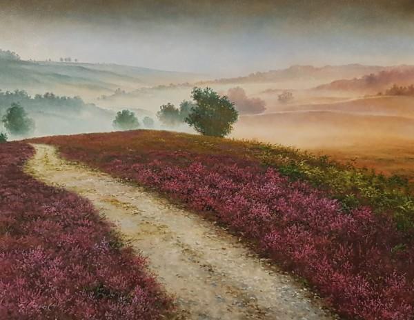 Eleonore Gagel - Weg im Nebel