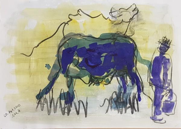 Armin Mueller-Stahl Blaue Kuh 8 Original