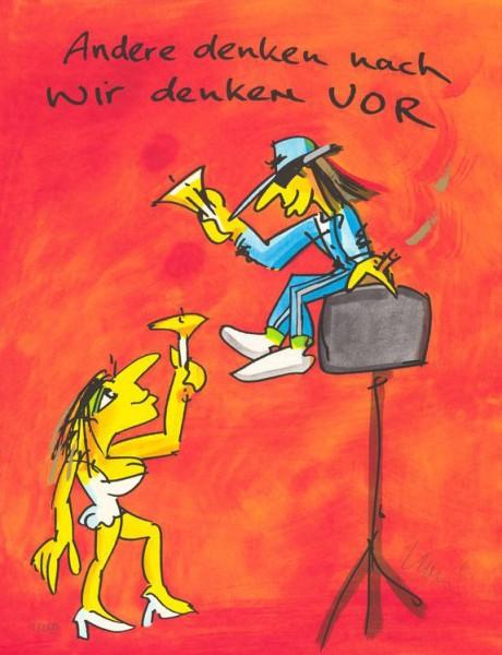 Udo Lindenberg - Andere denken nach - wir denken vor