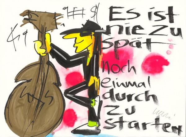 Udo Lindenberg - Es ist nie zu spät noch einmal durch zu starten