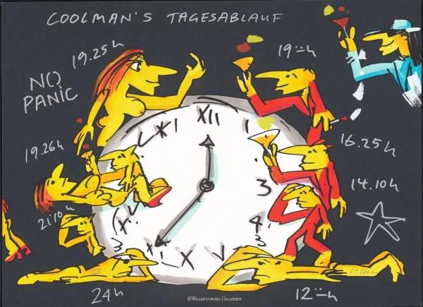 Udo Lindenberg Coolman's Tagesablauf