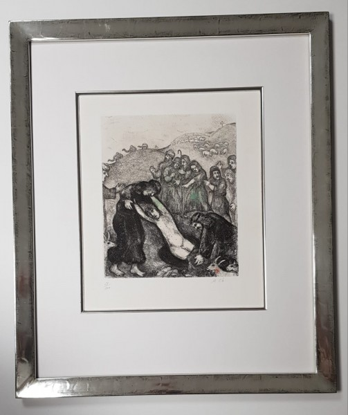 Marc Chagall Original Radierung im Modellrahmen Köln