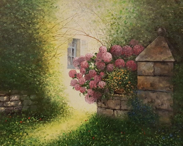 Eleonore Gagel - Hortensienpforte