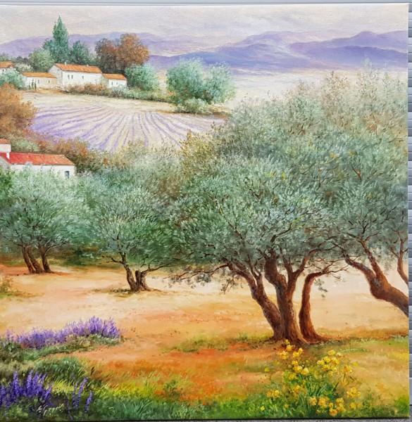 Eleonore Gagel - Olivenhain und Lavendel