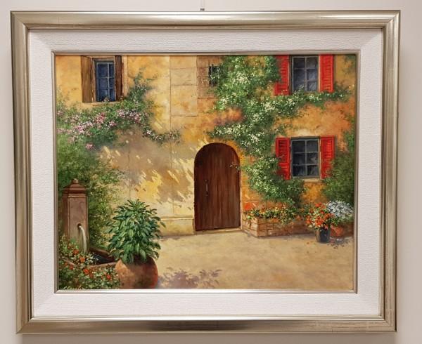 """Eleonore Gagel """"Rote Fensterläden"""""""