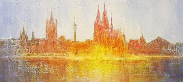 """Jean-Claude Picard """"Silhouette von Köln"""""""