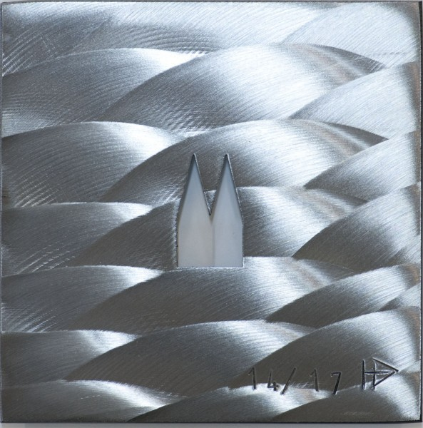 Helmut Brands Trägerplatte mit 1 Ausschnitt