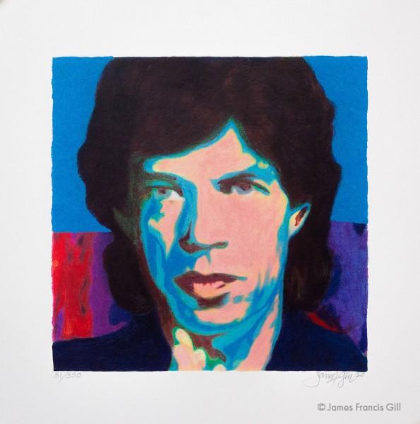 James Francis Gill - Mini Mick Jagger