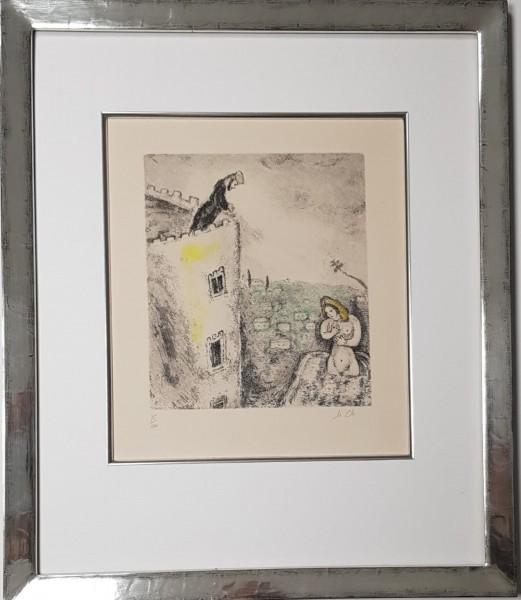 Marc Chagall Original Radierung