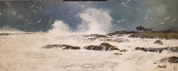 Uwe Herbst Sturm in der Bretagne