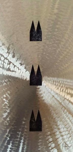 Helmut Brands - Dom Stahlplatte 3 Ausschnitte