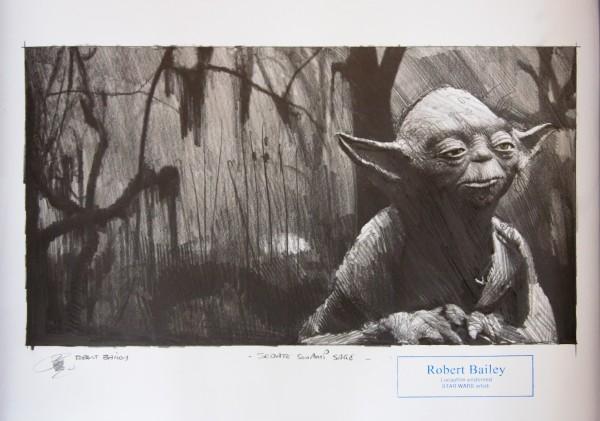 """Star Wars - Robert Bailey """"Sedate swamp sage"""""""