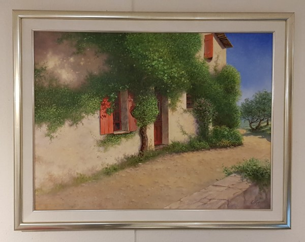 Eleonore Gagel - Rote Fensterläden