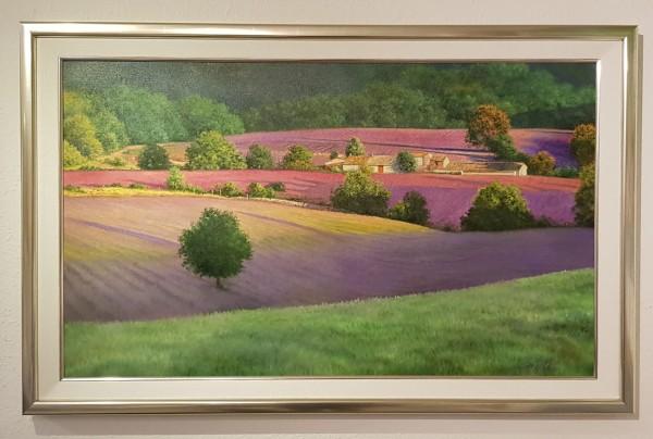 Eleonore Gagel - Hof im Lavendelfeld