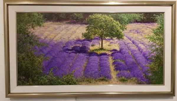 Eleonore Gagel - Baum im Lavendelfeld