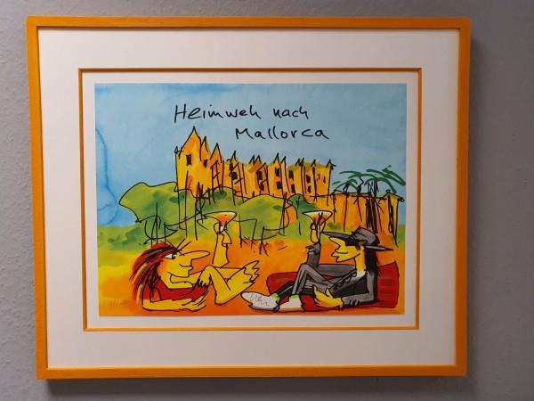 Udo Lindenberg - Rahmenbeispiel - Heimweh nach Mallorca