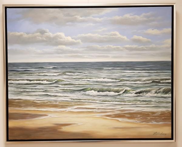 """Kai Lichtenberg """"Meer mit Strand"""""""