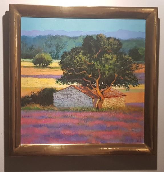 Uwe Herbst - Hütte im Lavendel