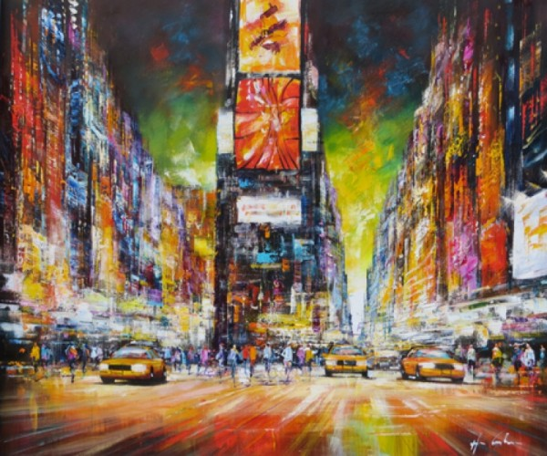 Christian Henze New York Nacht