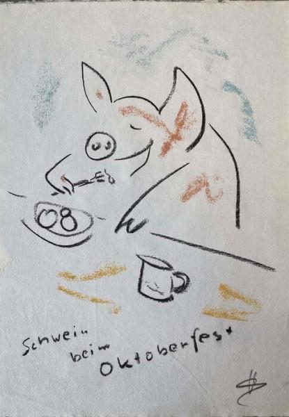 Helge Schneider - Schwein beim Oktoberfest