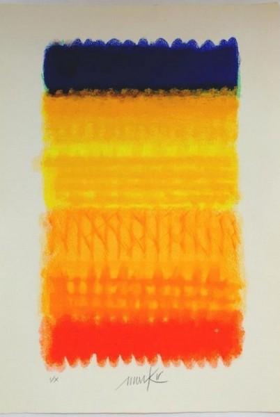 Heinz Mack Chromatik rot gelb blau