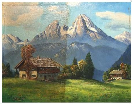 Fachgerechte Nikotinentfernung Bild Berge