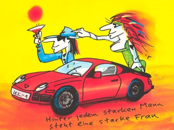 Udo Lindenberg - Hinter jedem starken Mann steht eine starke Frau (Porsche)