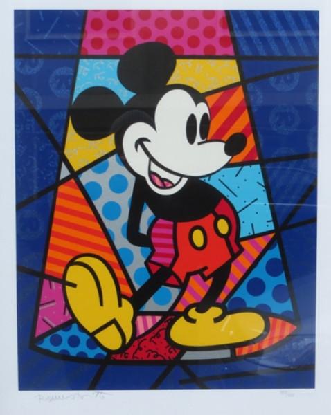 Romero Brito Mickey Mouse