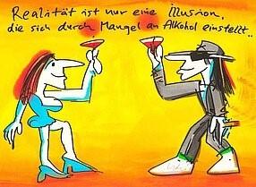 Udo Lindenberg - Realität ist nur eine Illusion, die sich durch Mangel an Alkohol einstellt