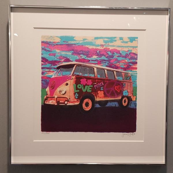 James Francis Mini Hippie Bus (2020)