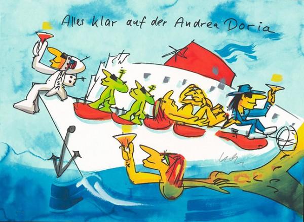 Udo Lindenberg Alles klar auf der Andrea Doria