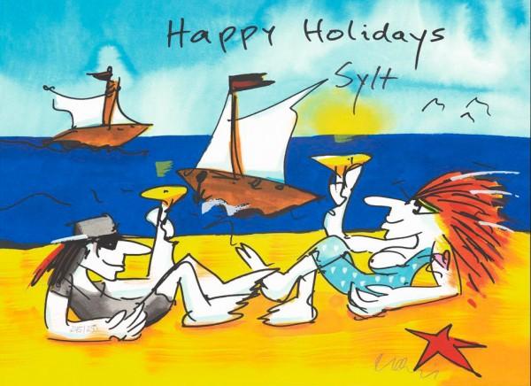 Udo Lindenberg Happy Holidays... (z.B. Timmendorf, Sylt, Juist, Norderney usw.)