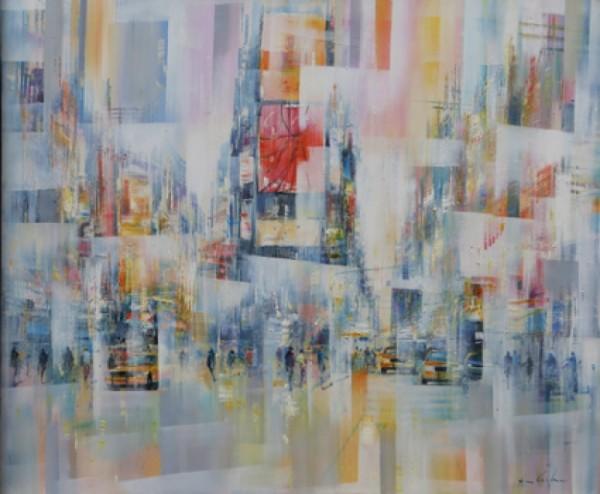 Christian Henze New York Reflex 100 x 120