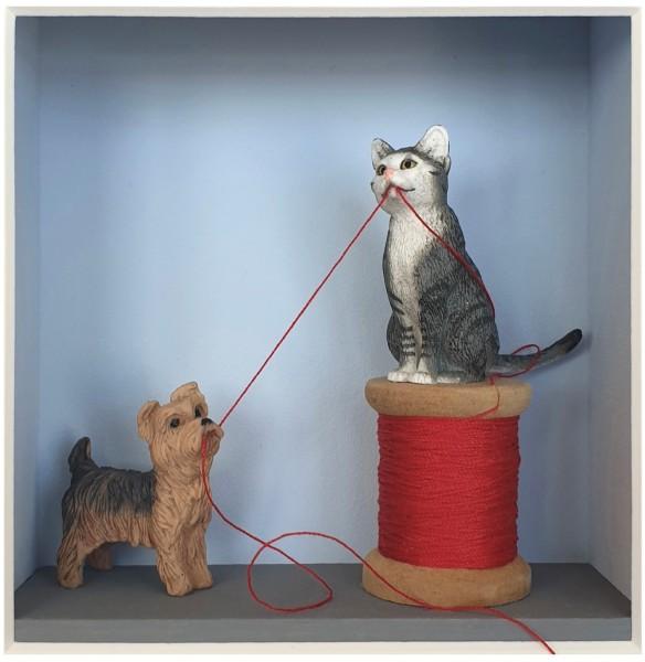 Volker Kühn - Hund und Katz